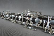 Professional ebony wood concert semiautomatic C key oboe full conservatory