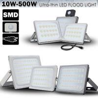 LED Flood Lights 500W 300W 200W 150W 100W 50W 30W 20W 10W Security Outdoor Lamp