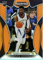 2019-20 Panini Prizm Draft Picks JAYLEN NOWELL Orange Prizm #'D 057/149