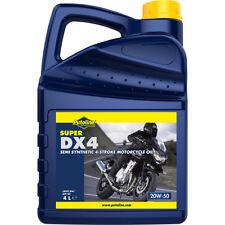 Aceite Putoline SUPER DX 4 | 20W-50 | 20W50 | Semisintetico | Moto | 4 litros
