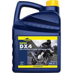 Aceite Putoline SUPER DX 4   20W-50   20W50   Semisintetico   Moto   4 litros