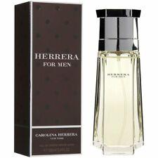 CAROLINA HERRERA FOR MEN 100ML EDT NEW SEALED BOX.