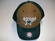 Twins Enterprise Dallas Stars Tan Green Kids Adjustable Strap One Size Fits