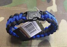 Rothco Paracord Bracelet. The Thin Blue Line.
