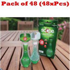 48x Scope Outlast Long Lasting Mint Mouthwash Travel Pack ToGo Total 31.2 FL OZ