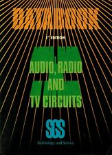 SGS Databook, Audio, Radio and TV Circuits, 1st Edition, issued November 1983