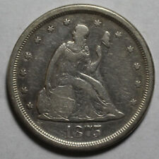 1875 S 20 Cent Twenty Cent Piece WR686
