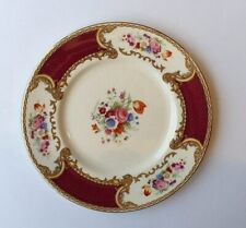 ANTIQUE ROYAL CROWN MYOTTS,THE BOUQUET TEA PLATE,STAFFORDSHIRE,