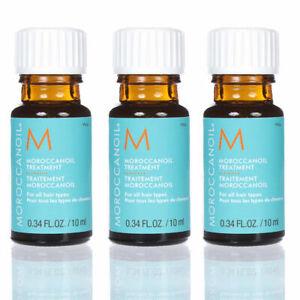 3x MOROCCANOIL Treatment Oil Light Set of 8 0.34 oz / 10 ml each