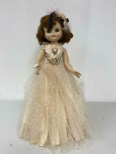 """Vintage 19"""" American Character Betsy Mccall Vinyl Doll In Peach Gown"""