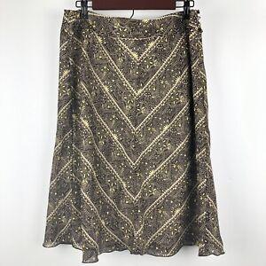 Ann Taylor Factory Store Midi Skirt Size 14