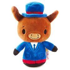Hallmark itty bittys Limited Edition Patriotic Donkey Stuffed Animal