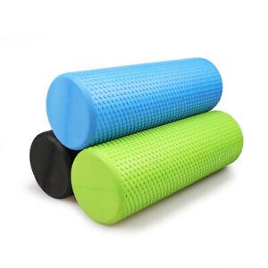 New 45/60/90cm EVA Yoga Foam Roller Physio Yoga Pilate Exercise Home Massage