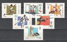 Polen 3149-54 ** Olympia 1988 kpl.