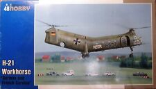 """Special Hobby 1/48 H-21 Workhorse """"German and French service"""" Plastic model kit"""