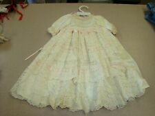 """Lacey Doll Dress .Dress Measures 19"""" Tall"""