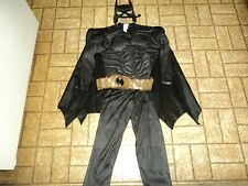 Batman Muscle Chest Costume. Sz. Med. 7-8