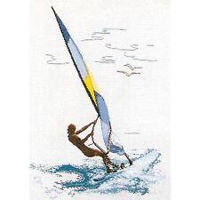 THEA GOUVERNEUR  1010A  Planche à voile  Aïda  Kit  Point de Croix  Compté