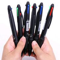 Multicolor 4 in 1 Ballpoint Pen Writing 0.7mm School Office Ball Point Pen New