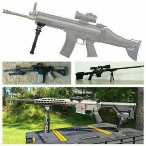 Tactical Rifle Bipod 6.5-9 Inches Adjustable Foldable Leg Rail Mount V8  AU