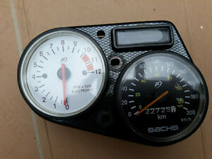 Sachs XTC 125 XTC125 4T 2004 Speedometer/Speedo/Cockpit Instruments/Clocks