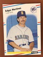 1988 Fleer Edgar Martinez Lot of 10 Rookie Cards #378 NM-MINT LOOK - Seattle HOF
