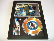 THE WHO SIGNED  GOLD CD  DISC 143