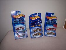 HOT WHEELS - LOT OF 6 - BLAST LANE - SCORCHIN SCOOTER - MO' SCOOT - MORE - NEW
