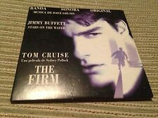 JIMMY BUFFETT SPANISH CD SINGLE SPAIN PROMO 1 TRACK THE FIRM OST TOM CRUISE CARD