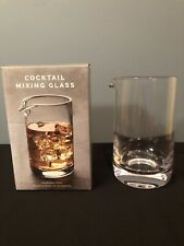 Cocktail Mixing Glass with Seamless and Handblown Construction - Plain Design