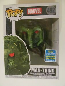 Funko Pop! Vinyl - Man-Thing - 2019 Summer Convention Exclusive - Sealed