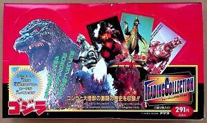 🔥 Rare Vintage Godzilla! 🐊 JPP/Amada 1995 Trading Cards Box 🔥