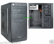 CASE CABINET VulTech ® GS-0982 PC ATX + ALIMENTATORE 500W DESKTOP 500 W LED MINI