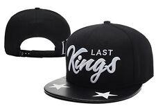 New Fashion Last Kings baseball Snapback Hip-Hop adjustable bboy Hat cap Black