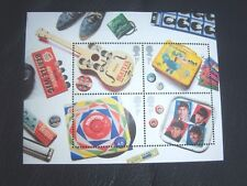 THE BEATLES COMMEMORATIVE ROYAL MAIL 2007  BRITISH  STAMPS SET FOUR MINT UNUSED