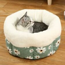 New Warm Pet Dog Cat House Sofa Bed House Mat Cushion Deep Sleeping Bag S