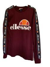 Ellesse Ladies Burgundy Top Size 6