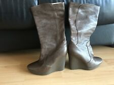 Jimmy Choo Ladies Leather Boots Size 37 UK 4