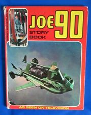 1968 GERRY ANDERSON'S JOE 90 STORY BOOK HC GD+ UK BBC TV Thunderbirds