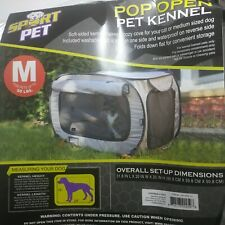 Medium Pop Open Kennel, Portable Cat Cage Kennel, Waterproof Pet bed
