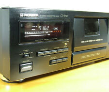 PIONEER CT-S910, 3-HEAD, AUTO BLE - WITH NEW BELTS & IDLER in MINT CONDITION