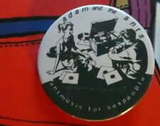 38mm BUTTON BADGE PUNK ROCK ADAM AND THE ANTS ZEROX DIRK CARTROUBLE ANTMUSIC CD
