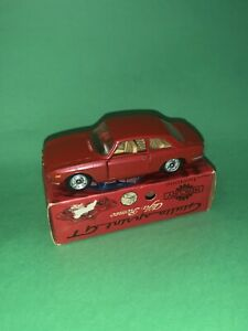 Mercury Alfa Romeo Gt Con Scatola Originale Macchina Vintage Politoys