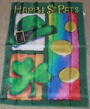 "St. Patrick's Day Collage Large Flag by Nce #66047 28"" x 40"""