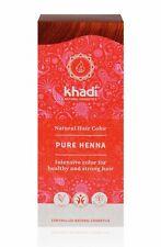 Khadi Naturel Couleur des Cheveux - Pur Rouge - 100gr - Herbes Coloration de