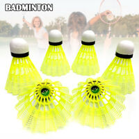 Nylon Badminton Shuttlecocks with Great Stability Indoor Outdoor Sports Balls