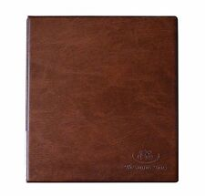 Brown Coin Album 241 Coins All Size Mix Sizes Book Pages Folder BEST QUALITY /TH