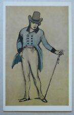 SHERRINGHAM COSTUME DESIGN Love In A Village Lyric Theatre Vintage V&A Postcard
