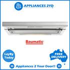 Baumatic GEH6018 60cm 600mm Slide Out Rangehood Kitchen Extractor Exhaust Hood