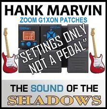 """Zoom G1XON Art d'echo que sombras sonido de Eco 60s (sólo configuración) """"no un pedal"""""""